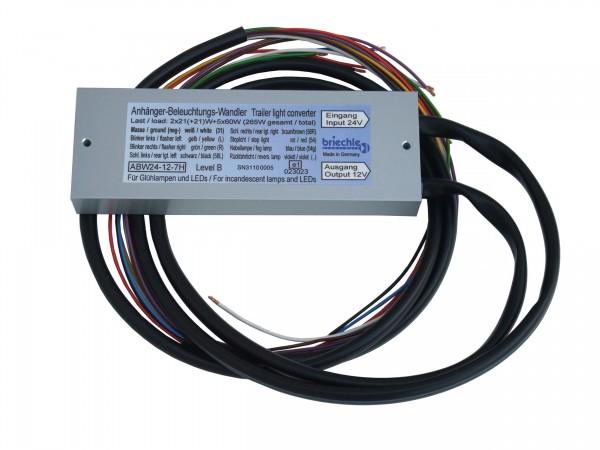 Anhänger-Beleuchtungs-Wandler mit Rückfahrleuchte Spannungsreduziergerät
