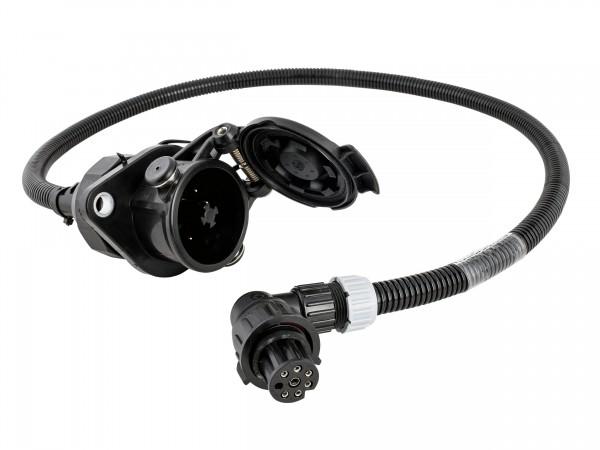Steckdosenleitung 7-polig 24 Volt, ABS / EBS mit MAN Stecker