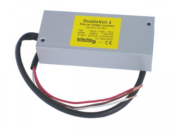DoubleVolt 3 12V auf 24V, 3A Spannungsverdoppler für Geräteversorgung