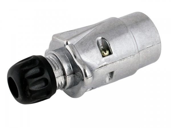 Anhängerstecker 7-polig 12 Volt, Aluminiumgehäuse