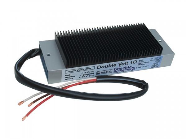 Double Volt 10 12V auf 24V 10(15)A Spannungsverdoppler für Geräteversorgung