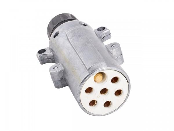 Stecker 7-polig 24 Volt, ISO 3731, Schraubanschluss