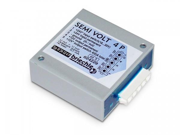 Semi Volt 4 Plus 24V auf 12V 4 (6) A Spannungswandler