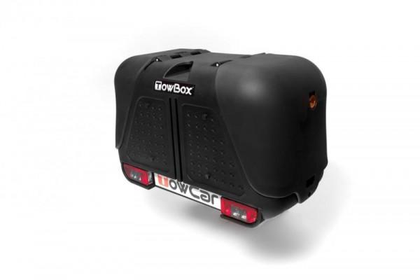 Towbox V2 Gepäckbox für Anhängerkupplung | Schwarz | Transportbox | Gepäckträger