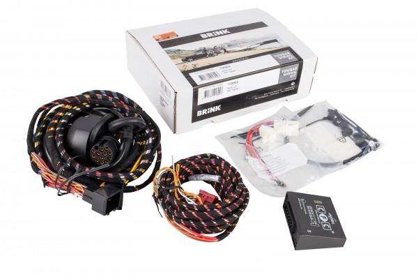 Brink 21500623 fahrzeugspezifischer 13-poliger Elektrosatz Audi Q3 + VW Tiguan